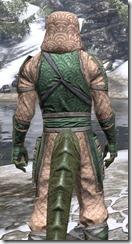 Akaviri Homespun - Argonian Male Shirt Close Rear