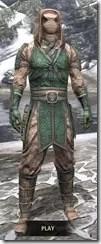 Akaviri Homespun - Argonian Male Shirt Front