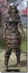 Akaviri Iron - Khajiit Female Front