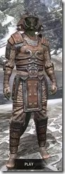 Akaviri Rawhide - Argonian Male Front