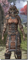 Akaviri Rawhide - Khajiit Female Close Front