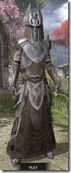 Aldmeri Dominion Homespun - Khajiit Female Robe Front