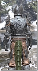 Aldmeri Dominion Iron - Argonian Male Close Rear