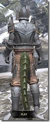 Aldmeri Dominion Iron - Argonian Male Rear