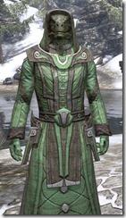 Ancient Elf Homespun - Argonian Male Robe Close Front