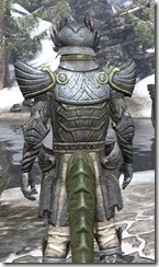 Ancient Elf Iron - Argonian Male Close Rear