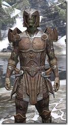 Ancient Elf Rawhide - Argonian Male Close Front