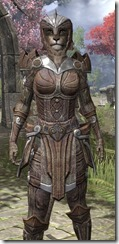Ancient Elf Rawhide - Khajiit Female Close Front