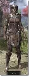 Ancient Elf Rawhide - Khajiit Female Front