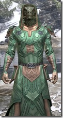 Ancient Orc Homespun - Argonian Male Robe Close Front
