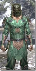 Ancient Orc Homespun - Argonian Male Shirt Close Front