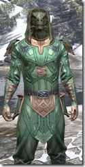 Ancient Orc Homespun - Argonian Male Shirt Close Front