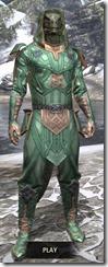 Ancient Orc Homespun - Argonian Male Shirt Front