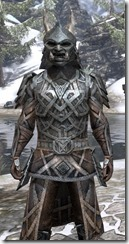 Ancient Orc Iron - Argonian Male Close Front