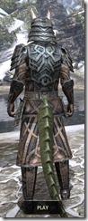 Ancient Orc Iron - Argonian Male Rear