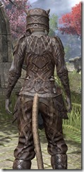 Ancient Orc Rawhide - Khajiit Female Close Rear
