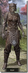 Ancient Orc Rawhide - Khajiit Female Front