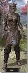 Ancient Orc Rawhide - Khajiit Female Front