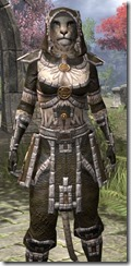Argonian Cotton - Khajiit Female Shirt Close Front