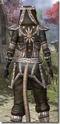 Argonian Cotton - Khajiit Female Shirt Close Rear