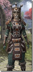 Argonian Dwarven - Khajiit Female Close Front