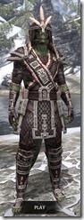 Argonian Full-Leather - Argonian Male Front