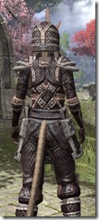 Argonian Full-Leather - Khajiit Female Close Rear