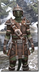 Argonian Hide - Argonian Male Close Front