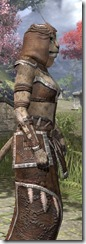 Argonian Homespun - Khajiit Female Robe Close Side