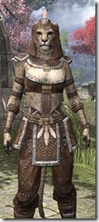 Argonian Homespun - Khajiit Female Shirt Close Front