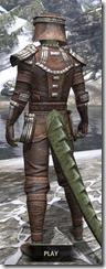 Argonian Iron - Argonian Male Rear