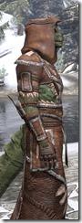 Argonian Linen - Argonian Male Robe Close Side