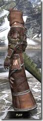 Argonian Linen - Argonian Male Robe Side