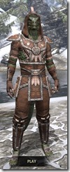 Argonian Linen - Argonian Male Shirt Front