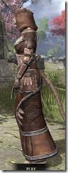 Argonian Linen - Khajiit Female Robe Side