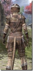 Argonian Rawhide - Khajiit Female Close Rear