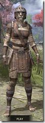 Argonian Rawhide - Khajiit Female Front