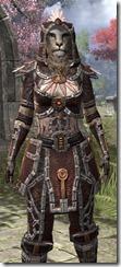 Argonian Spidersilk - Khajiit Female Shirt Close Front