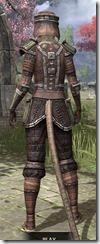 Argonian Steel - Khajiit Female Rear