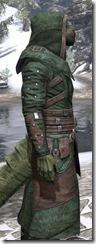 Assassins League Homespun - Argonian Male Robe Close Side