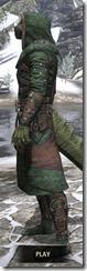 Assassins League Homespun - Argonian Male Robe Side