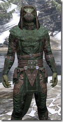 Assassins League Homespun - Argonian Male Shirt Close Front