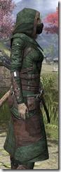 Assassins League Homespun - Khajiit Female Robe Close Side