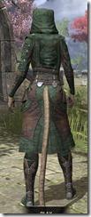Assassins League Homespun - Khajiit Female Robe Rear