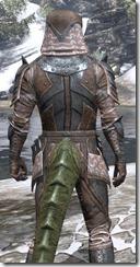 Assassins League Iron - Argonian Male Close Rear