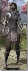 Assassins League Iron - Khajiit Female Front