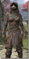 Assassins League Rawhide - Khajiit Female Close Front