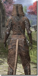 Assassins League Rawhide - Khajiit Female Close Rear