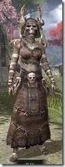Barbaric Homespun - Khajiit Female Robe Front