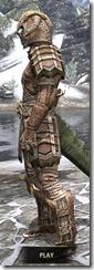 Barbaric Iron - Argonian Male Side
